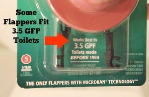 Toilet - Flapper 3.5